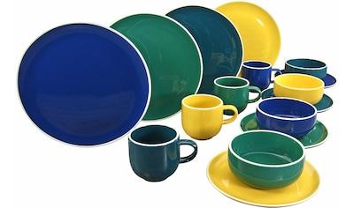 CreaTable Kombiservice »Dallas«, (Set, 16 tlg.), topaktuelle Farbgebung kaufen