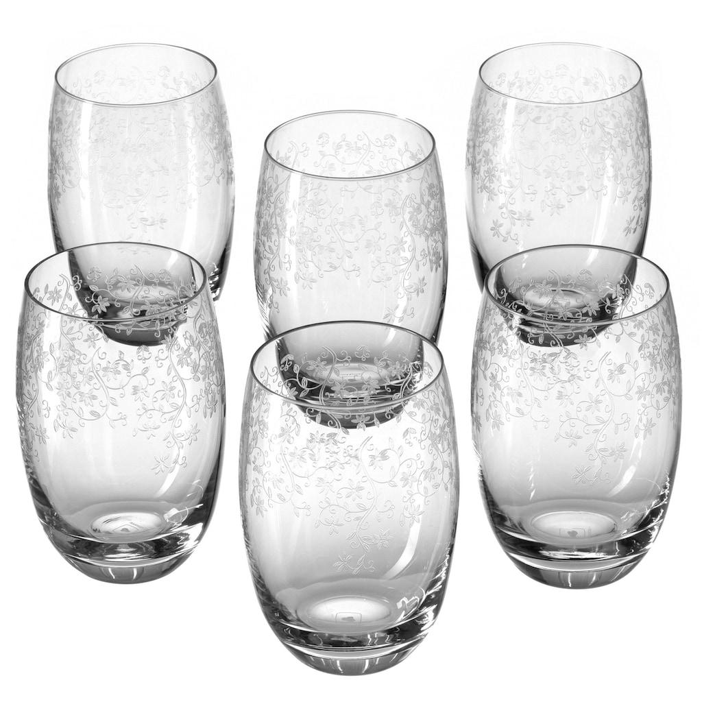 LEONARDO Longdrinkglas »Chateau«, (Set, 6 tlg.), 460 ml, Teqton-Qualität, 6-teilig