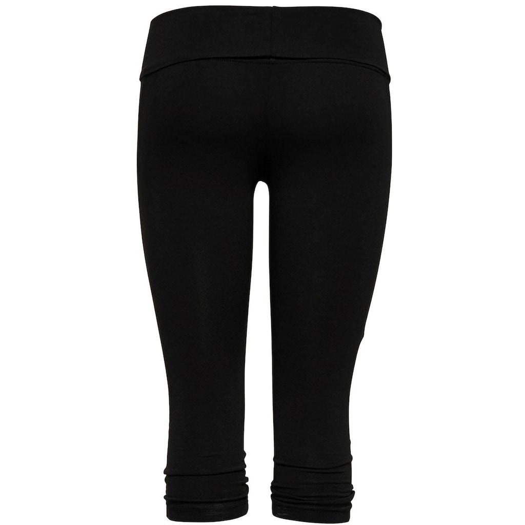 Only Play Leggings »ONPFOLD JAZZ TRAINING PANTS«, mit breitem Umschlagbund