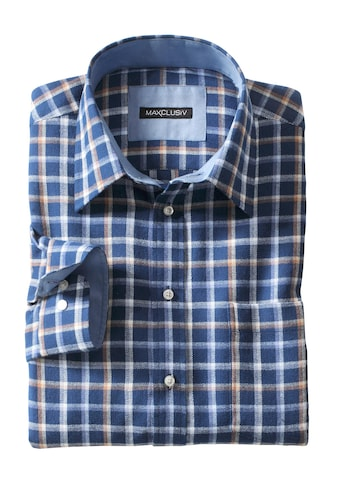 Marco Donati Langarm - Hemd aus weicher Flanell - Qualität kaufen