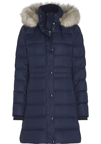 TOMMY HILFIGER Steppmantel »TH ESS TYRA DOWN COAT WITH FUR« kaufen