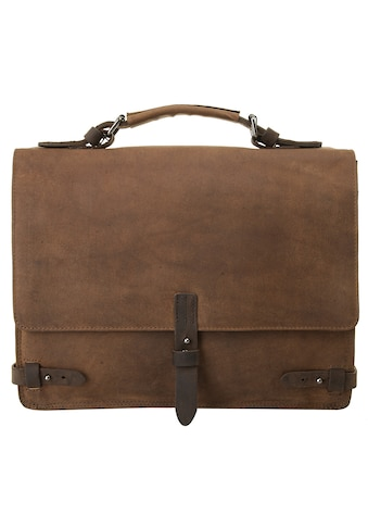 Harold's Messenger Bag »LEADO«, vegetabil gegerbt kaufen