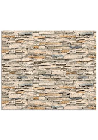 Artland Küchenrückwand »Braune alte Ziegelmauer«, selbstklebend in vielen Größen -... kaufen