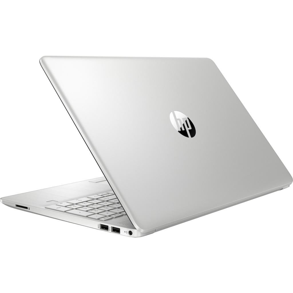 "HP Notebook »15-dw3201ng«, (39,6 cm/15,6 "" Intel Core i5 Iris© Xe Graphics\r\n 512 GB SSD), Kostenloses Upgrade auf Windows 11, sobald verfügbar"