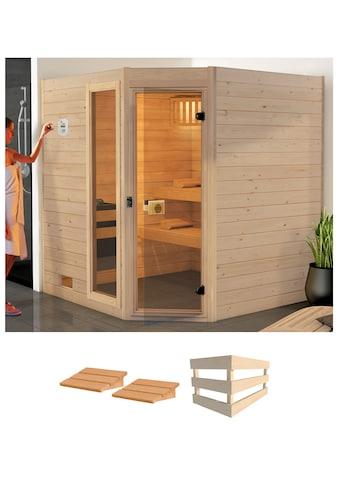 weka Sauna »Valida Eck 2«, ohne Ofen kaufen