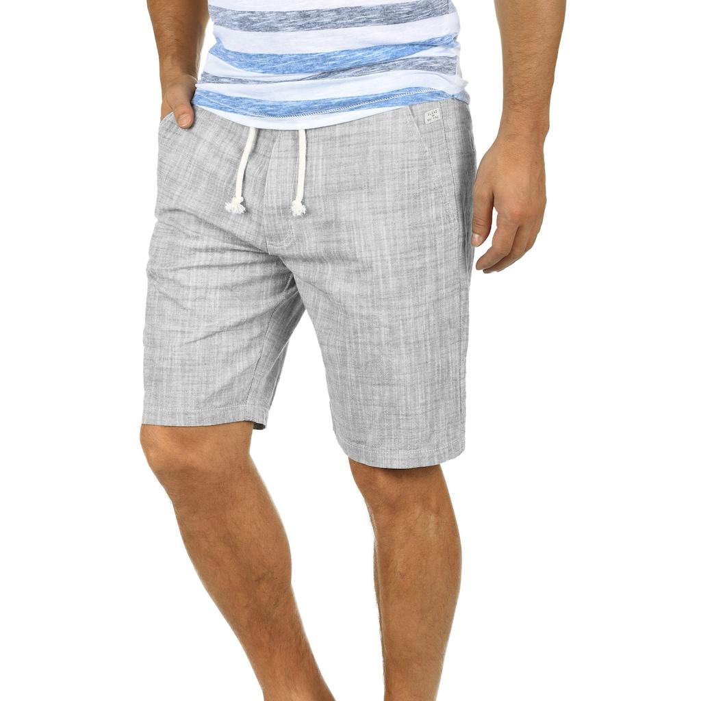 Blend Shorts »Bones«, kurze Hose aus Leinenqualität