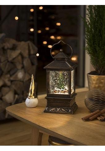 KONSTSMIDE LED Schneelaterne mit Weihnachtsmarkt kaufen