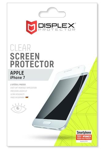 Displex Folie »Displayschutzfolie (2Stk) für Apple iPhone 7« kaufen