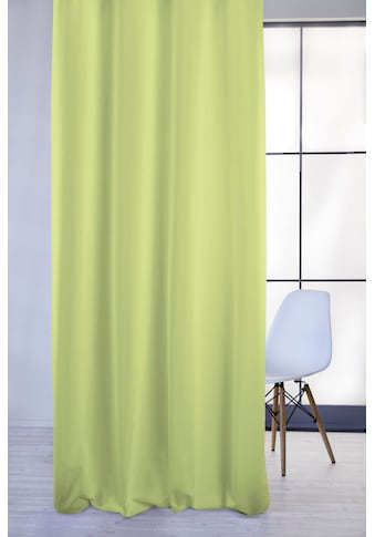 Vorhang, »4362 Rips Uni«, APELT, Ösen 1 Stück kaufen