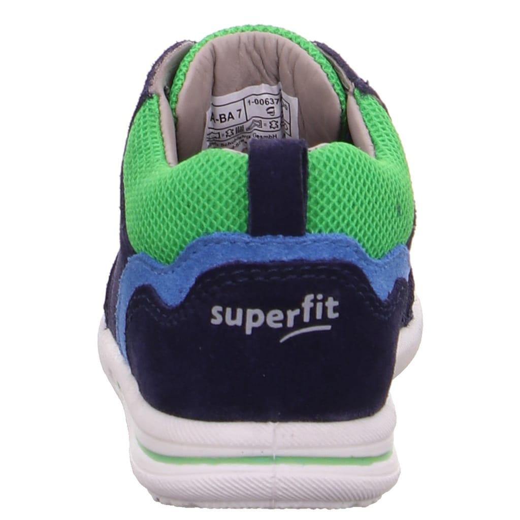 Superfit Lauflernschuh »Avrile Mini WMS Weiten-Messsystem: mittel«, mit kontrastfarbenem Einsatz; in schmaler Schuhweite