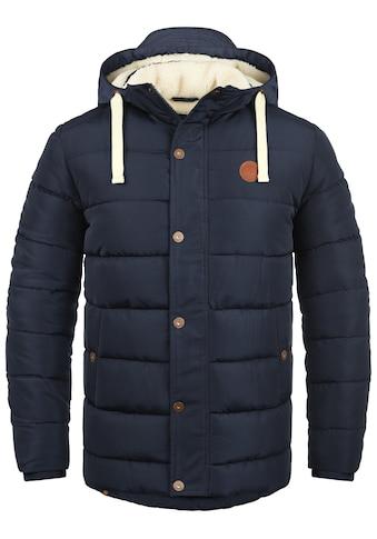 Blend Steppjacke »Frederic«, warme Jacke mit abnehmbarer Kapuze kaufen