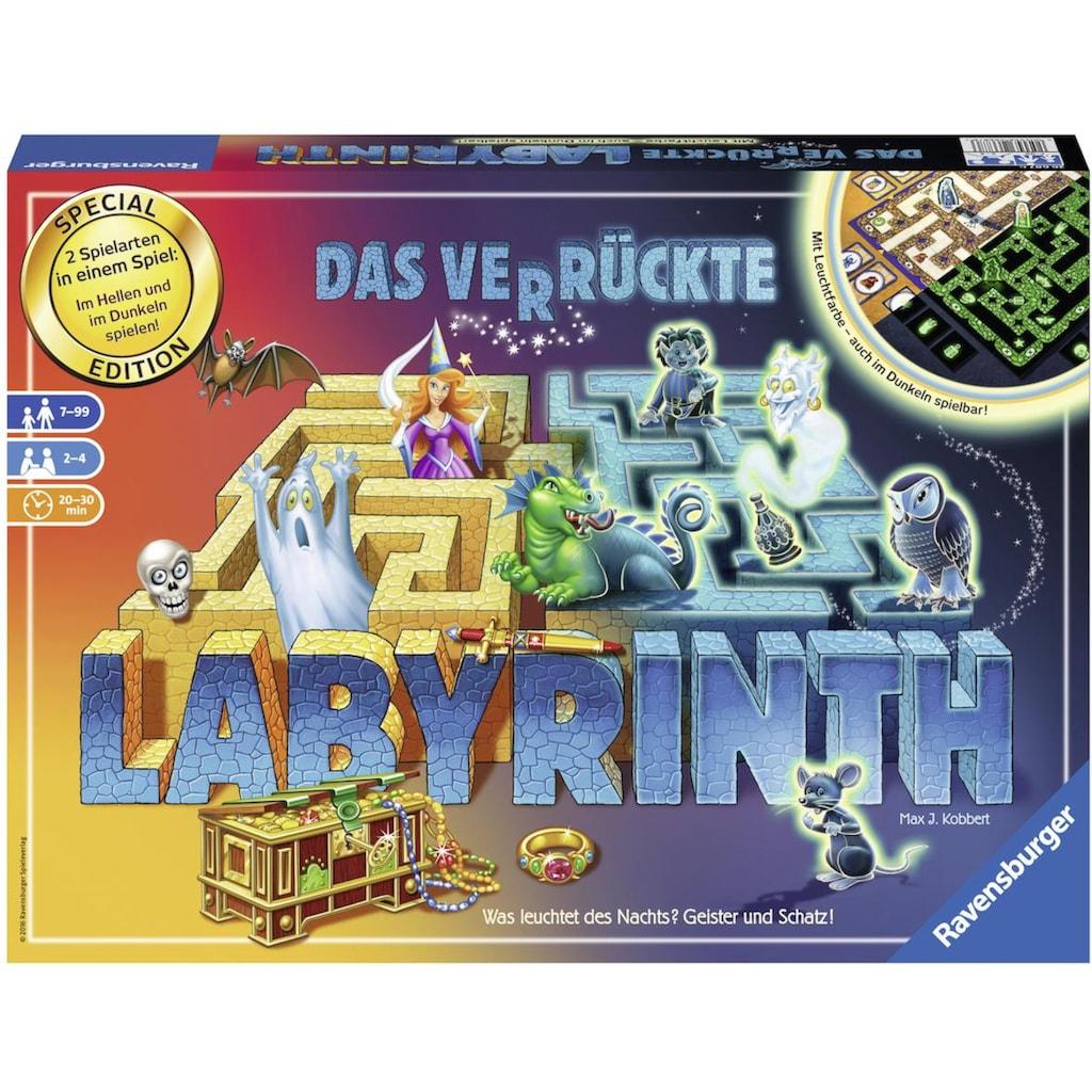 Ravensburger Spiel »Das verrückte Labyrinth - 30 Jahre Jubiliäumsedition«, Made in Europe, FSC® - schützt Wald - weltweit