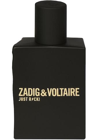 ZADIG & VOLTAIRE Eau de Toilette »Just Rock! Pour Lui« kaufen