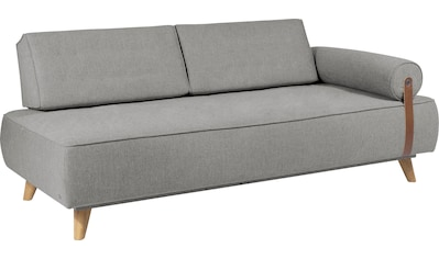 TOM TAILOR Daybett »NORDIC DAYBED PURE«, inklusive Kissenrolle & Lederband, mit 2... kaufen
