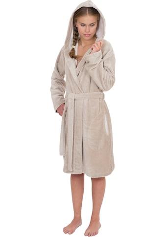 Wewo fashion Damenbademantel »6121«, (1 St., mit Gürtel), mit Schubtaschen kaufen
