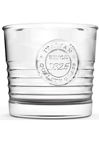 van Well Glas »Officina«, (Set, 6 tlg.), Mit schönem Relief-Design, 6-teilig kaufen