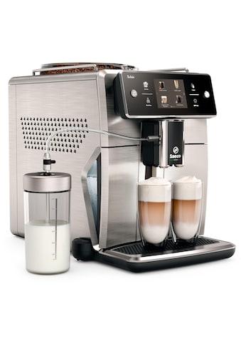 Saeco Kaffeevollautomat SM7785/00 Xelsis, 20 Kaffeespezialitäten, edelstahl/anthrazit, Scheibenmahlwerk kaufen