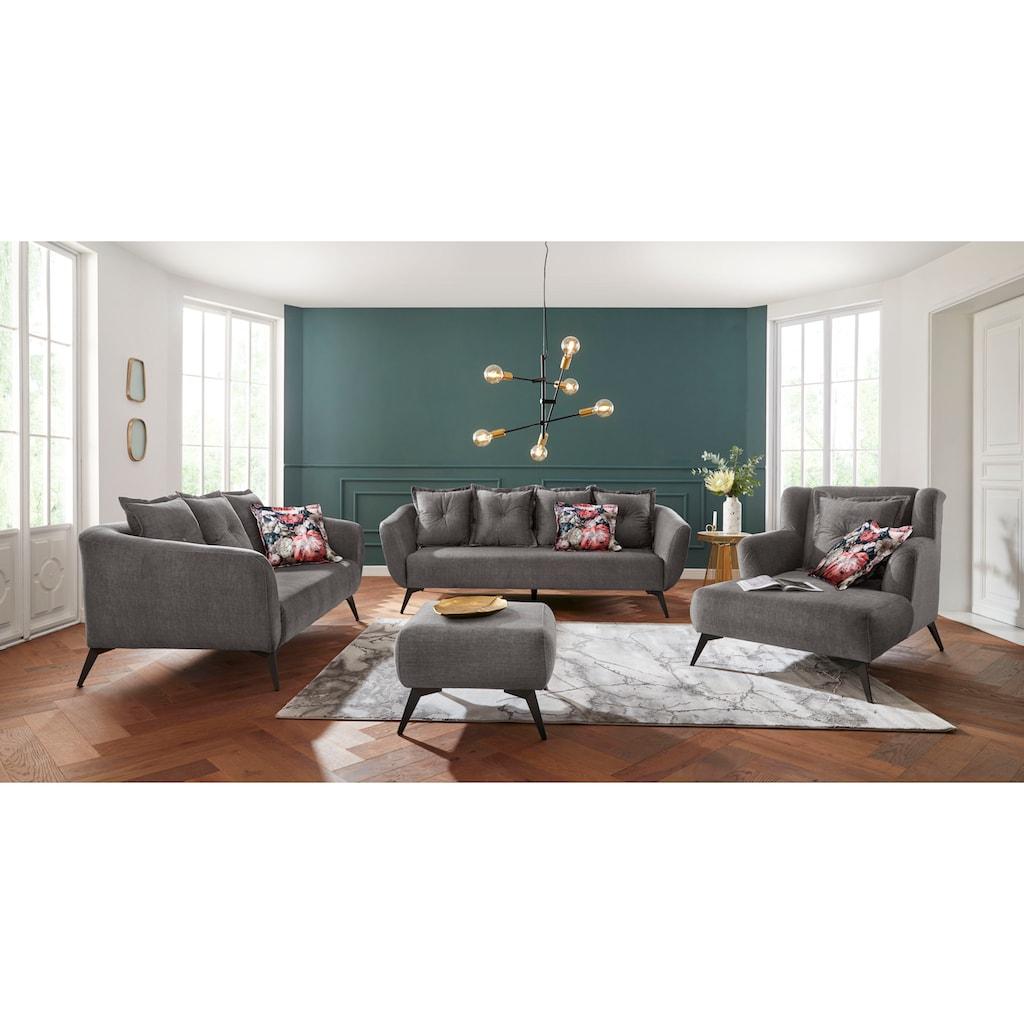 Leonique 2,5-Sitzer »Livien«, Zierkissen inklusive