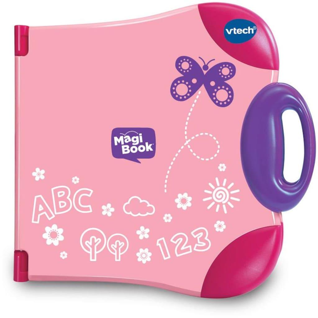 Vtech® Kindercomputer »Interaktives Lernbuchsystem, MagiBook, pink«