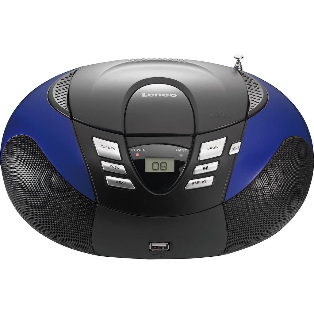 Lenco UKW-Radio »SCD-37 Portables Radio mit CD Player/USB«