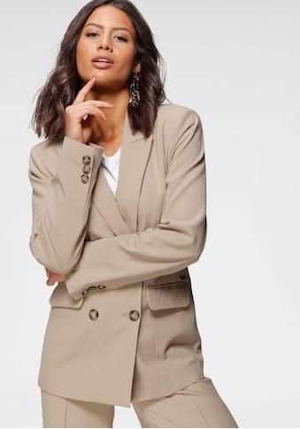 Bruno Banani Jackenblazer, als modischer Doppelreiher kaufen