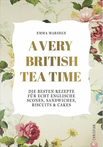 Buch »A Very British Tea Time / DIVERSE« kaufen