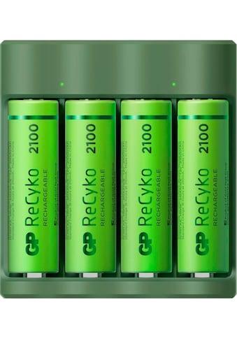 GP Batteries Akku-Ladestation »USB-Akkuladegerät B421 inkl. 4x ReCyko AA Akkus je 2100... kaufen