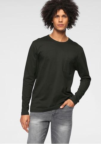 OTTO products Langarmshirt, aus zertifizierter Bio-Baumwolle kaufen