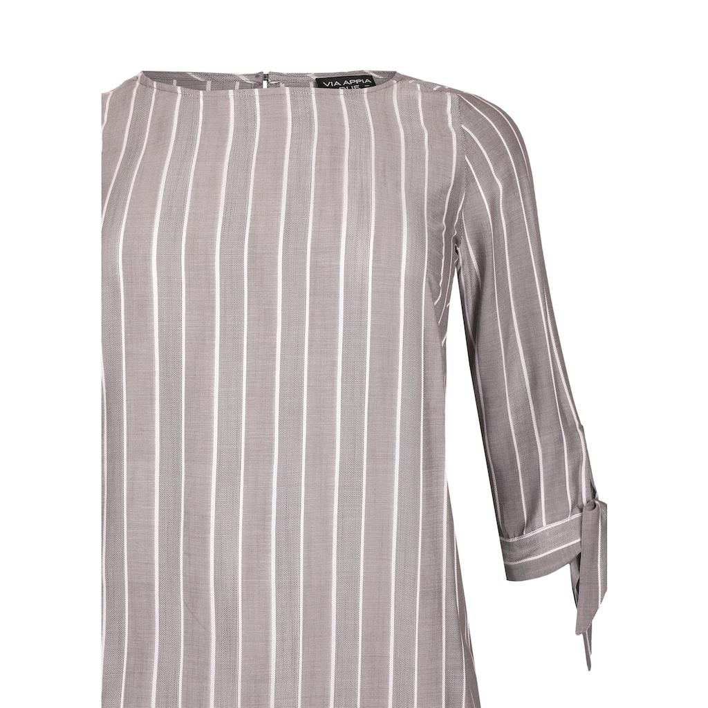 VIA APPIA DUE Modische Bluse mit Streifen Plus Size
