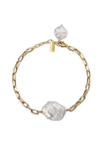AILORIA Armband »SHINJU gold/weiße Perle«, 925 Sterling Silber vergoldet Süßwasserperle kaufen