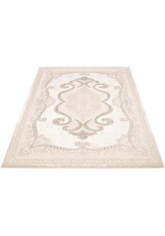 Carpet City Teppich »Platin 7741«, rechteckig, 11 mm Höhe, Wohnzimmer kaufen