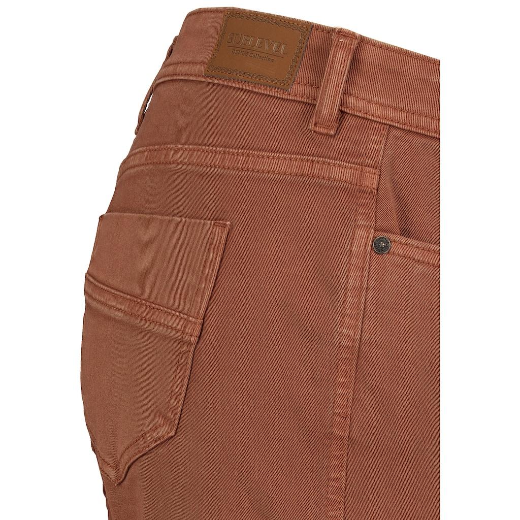 SUBLEVEL Cargohose, mit Taschen