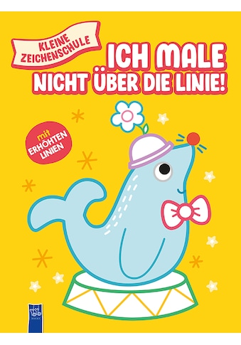 Buch »Kleine Zeichenschule - Ich male nicht über die Linie (gelb) / DIVERSE« kaufen