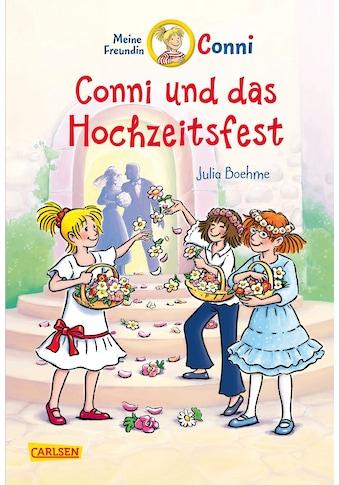 Buch »Conni-Erzählbände 11: Conni und das Hochzeitsfest (farbig illustriert) / Julia... kaufen