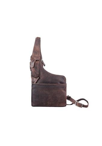 GreenLand Nature Umhängetasche »Stone«, aus hochwertigem Leder mit praktischem... kaufen