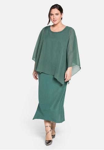 Sheego Abendkleid, im Lagenlook kaufen