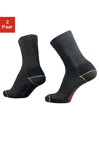 just socks Arbeitssocken, (2 Paar), für starke Beanspruchung kaufen