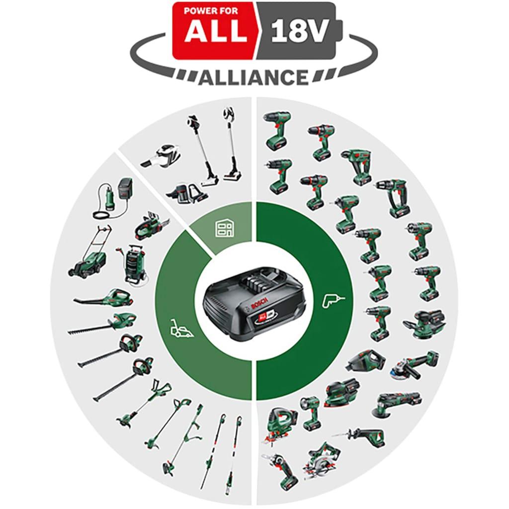 Bosch Powertools Akku-Schlagbohrschrauber »UniversalImpact 18«, (Set), inkl. 2 Akkus, Ladegerät und viel Zubehör