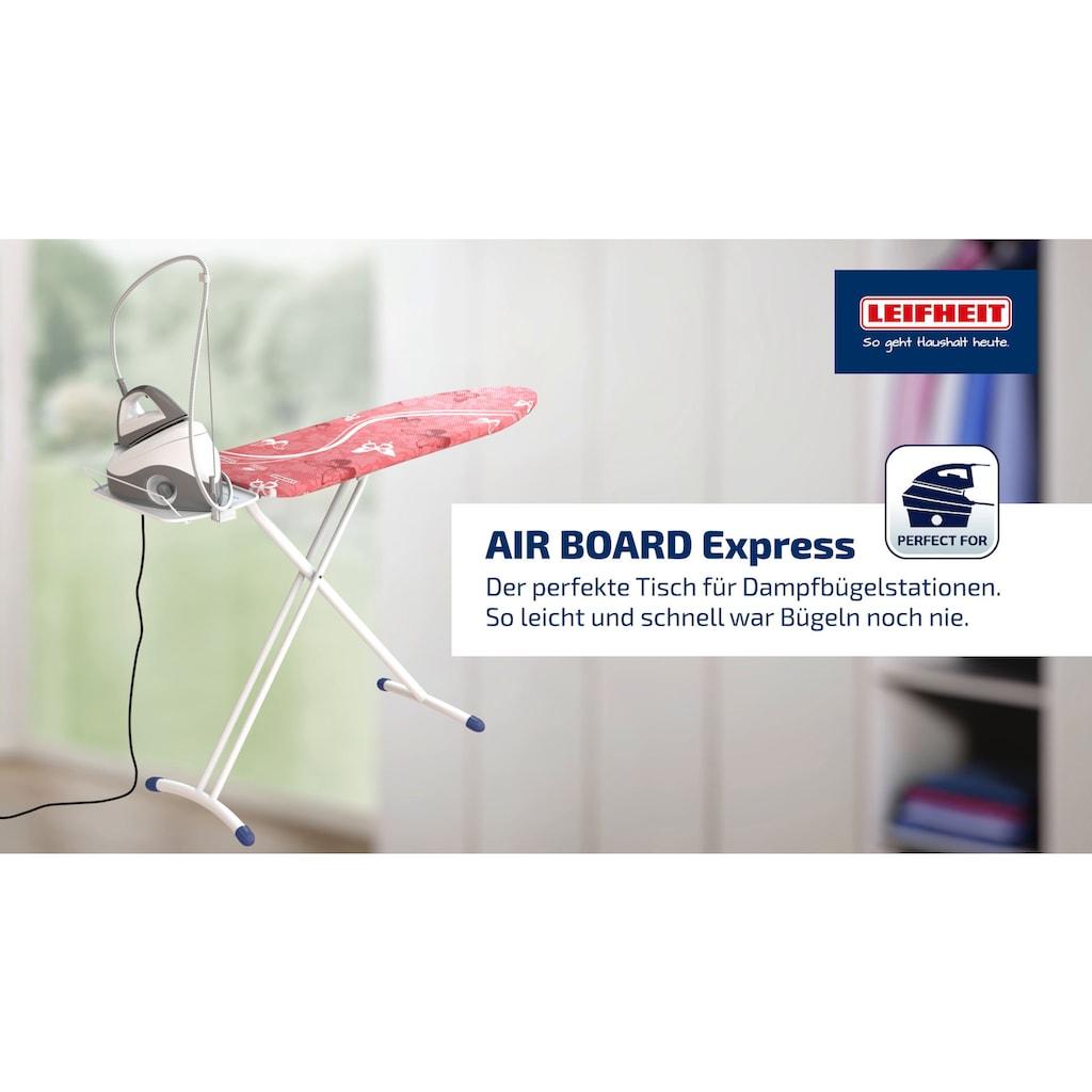 Leifheit Bügelbrett »AirBoard Express M Solid«, Bügelfläche 120 cmx38 cm