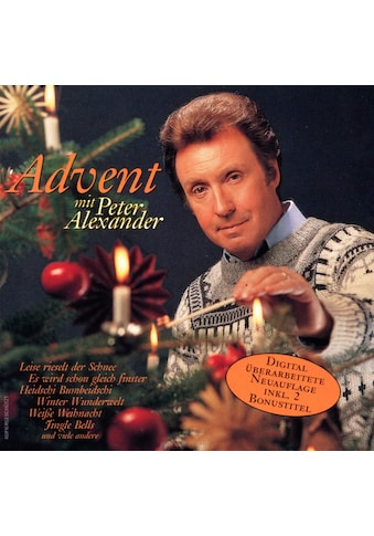 Musik - CD Advent Mit Peter Alexander / Alexander,Peter, (1 CD) kaufen