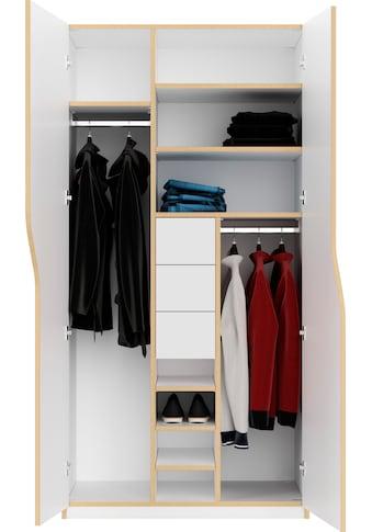 Müller SMALL LIVING Kleiderschrank »PLANE Ausstattung Nr. 2« kaufen