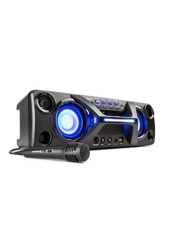 Auna Boombox Ghettoblaster Bluetooth Karaoke Lautsprecher 2x20W »Ultrasonic H550« kaufen
