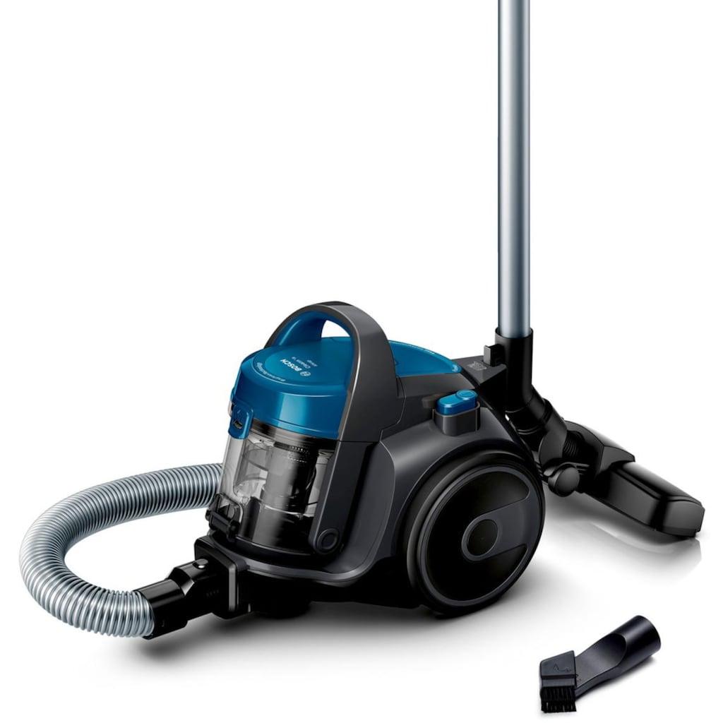 BOSCH Bodenstaubsauger »BGC05A220A Cleann'n«, 700 W, beutellos, Kompakt mit überzeugender Reinigungsleistung. Kann platzsparend verstaut werden.
