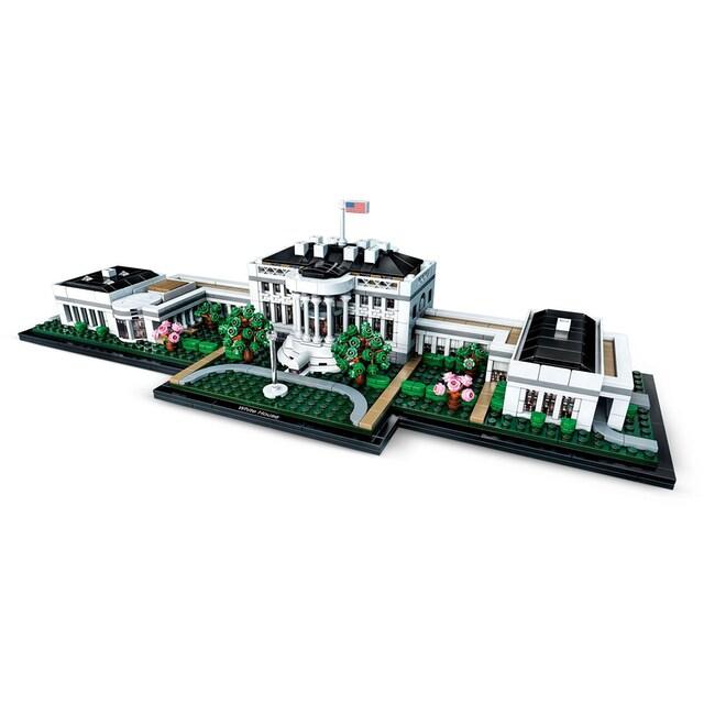 """LEGO® Konstruktionsspielsteine """"Das Weiße Haus (21054), LEGO® Architecture"""", Kunststoff, (1483-tlg.)"""