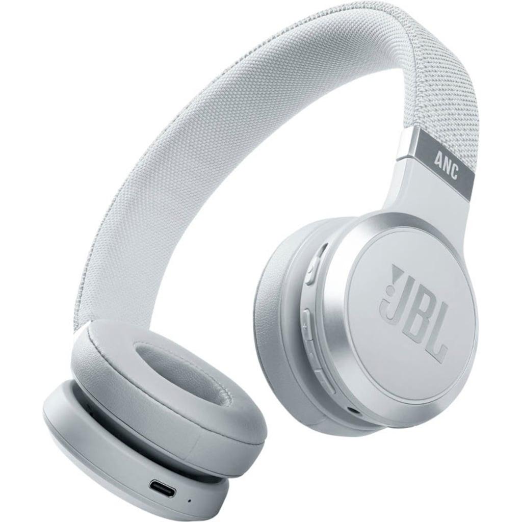 JBL On-Ear-Kopfhörer »LIVE 460NC Kabelloser«, Bluetooth, Noise-Cancelling