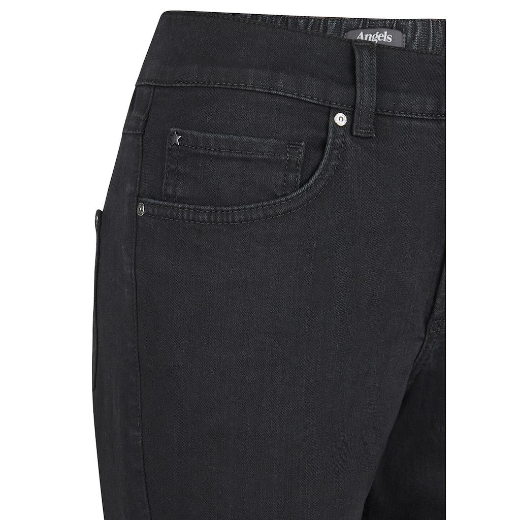 ANGELS 5-Pocket-Jeans, mit teilelastischem Bund