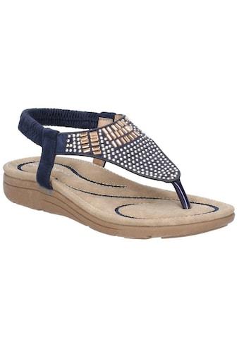Fleet & Foster Sandale »Damen Mulberry Elastik Leder« kaufen