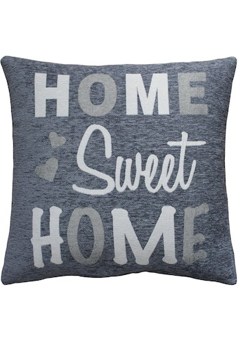 """Kissenhülle """"Home Sweet Home"""" HOSSNER  -  HOMECOLLECTION kaufen"""