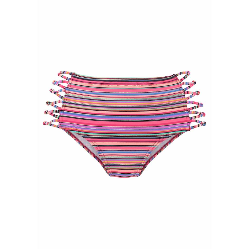 Homeboy Highwaist-Bikini-Hose »Kuba«, mit hohem Schnitt