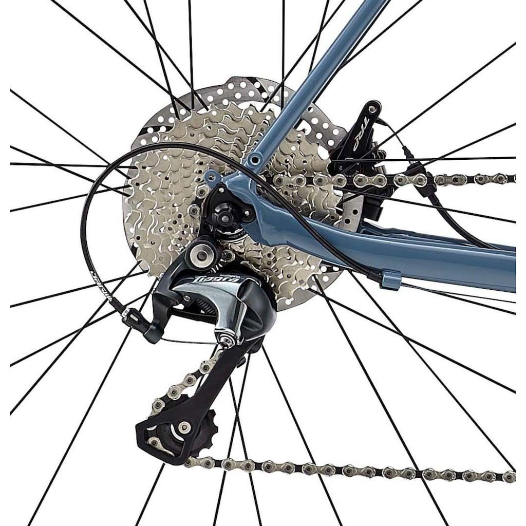 FUJI Bikes Rennrad »SPORTIF 1.3 D«, 20 Gang, Shimano, Tiagra Schaltwerk, Kettenschaltung